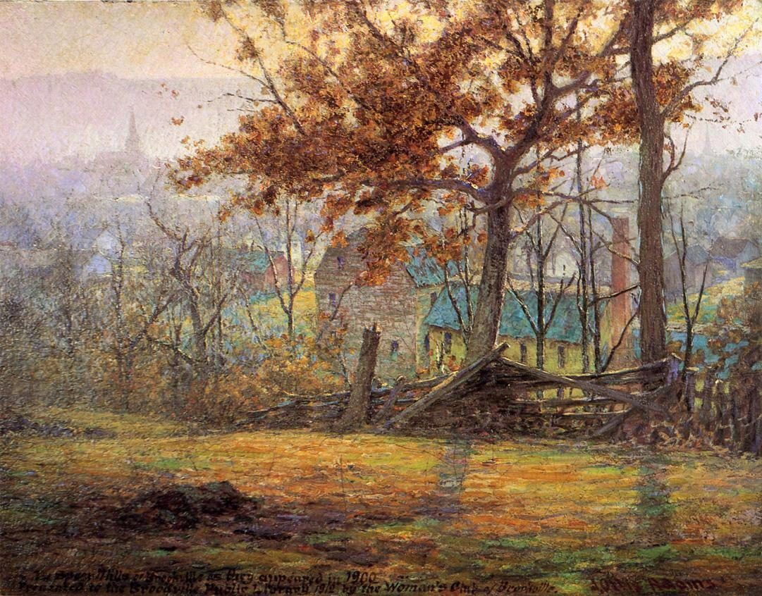 John Ottis Adams The Old Mills of Brookville