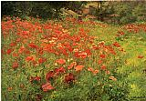 John Ottis Adams In Poppyland painting