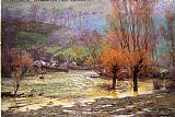 John Ottis Adams November Freshet painting