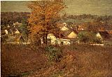 John Ottis Adams Our Village 1902 painting