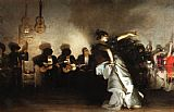 funny paintings - El Jaleo by John Singer Sargent