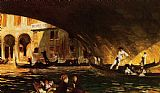 John Singer Sargent The Rialto painting