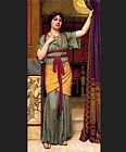 John William Godward A Pompeian Lady painting