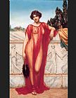 John William Godward Athenais painting