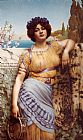 John William Godward Ionian Dancing Girl painting