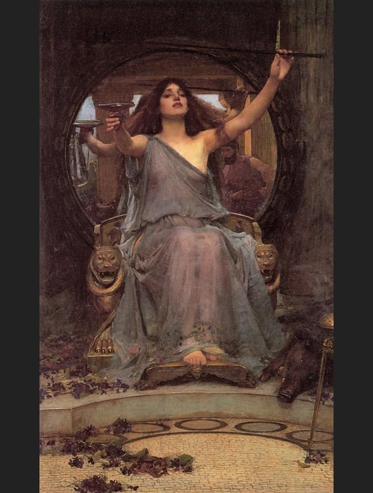 John William Waterhouse Circe offering the Cup to Ulysses