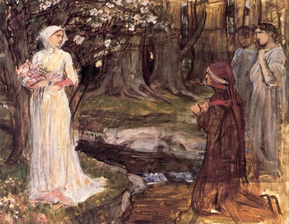 John William Waterhouse Dante and Beatrice