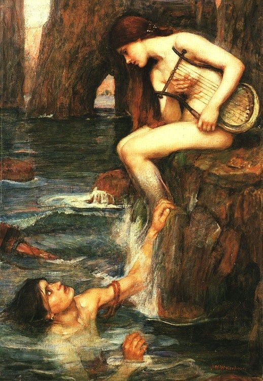 John William Waterhouse The Siren
