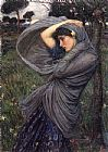 John William Waterhouse Boreas painting