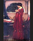 john william waterhouse Paintings - Crystal Ball