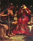 John William Waterhouse Jason and Medea painting
