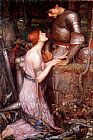 john william waterhouse Paintings - Lamia 1905