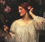 John William Waterhouse Vanity painting