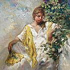 Jose Royo LUCES painting