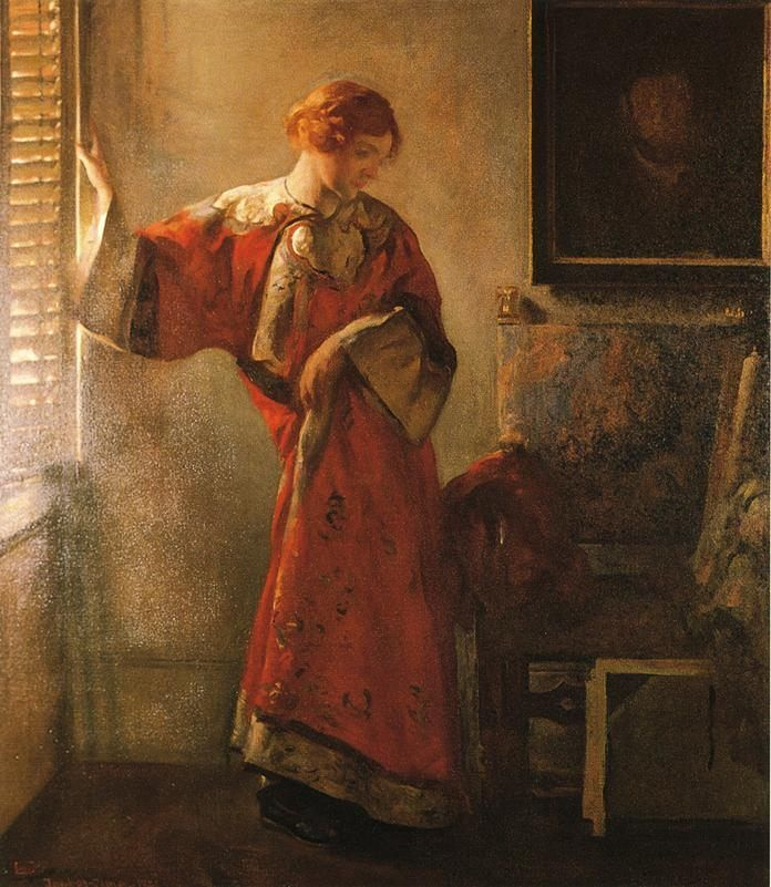 Joseph DeCamp The Window Blind
