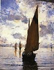 Venice paintings - Venice by Joseph DeCamp