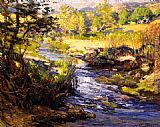 Joseph Kleitsch Creek Laguna Canyon painting