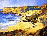 Joseph Kleitsch Diver's Cove painting