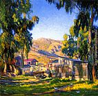 Joseph Kleitsch Pioneer Homes painting