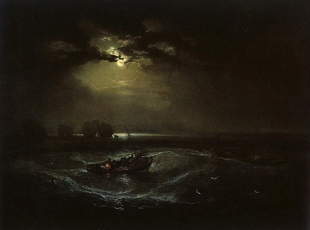 Joseph Mallord William Turner Fishermen at Sea