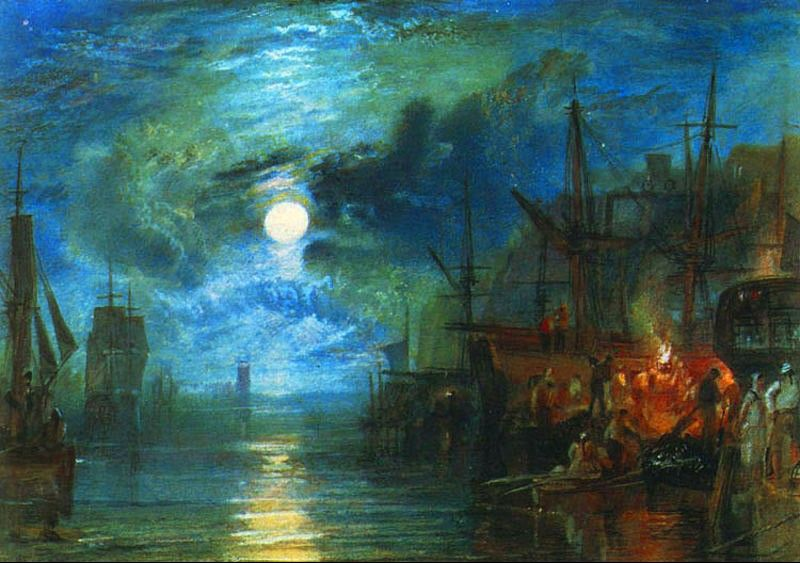 Joseph Mallord William Turner Shields, on the River Tyne