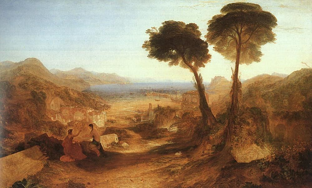 Joseph Mallord William Turner The Bay of Baiae with Apollo and the Sibyl