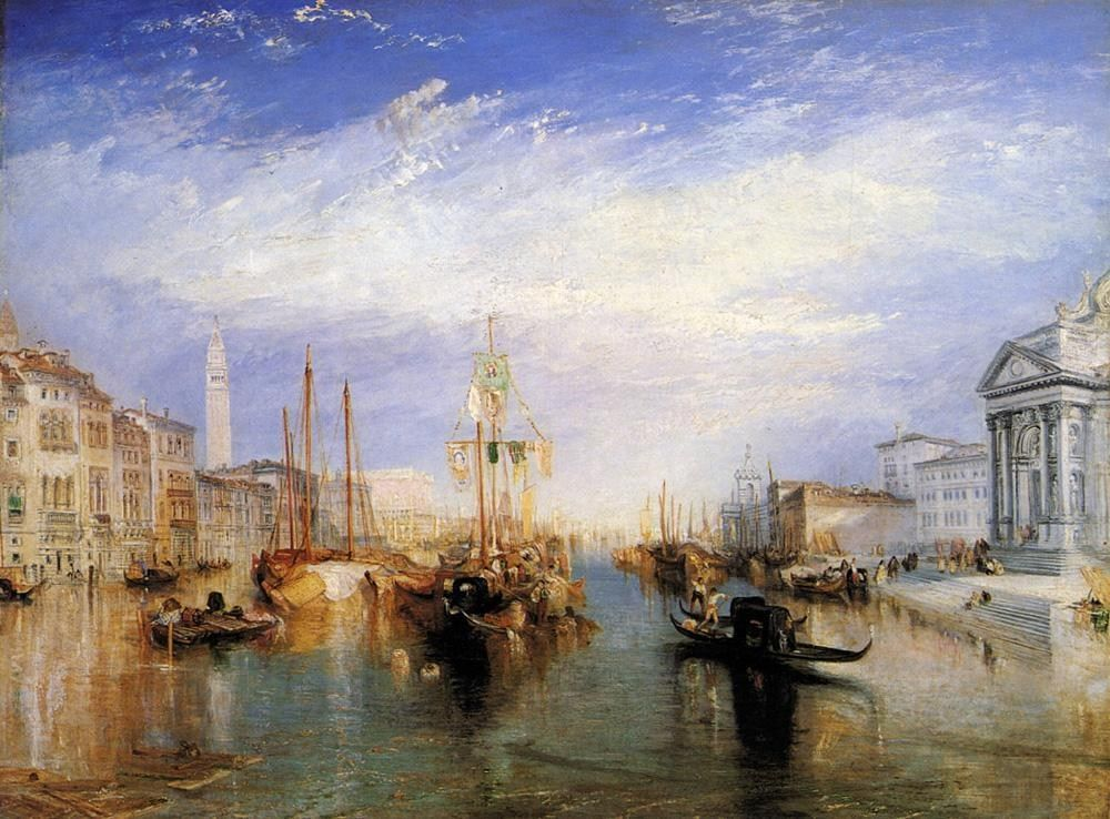 Joseph Mallord William Turner The Grand Canal Venice