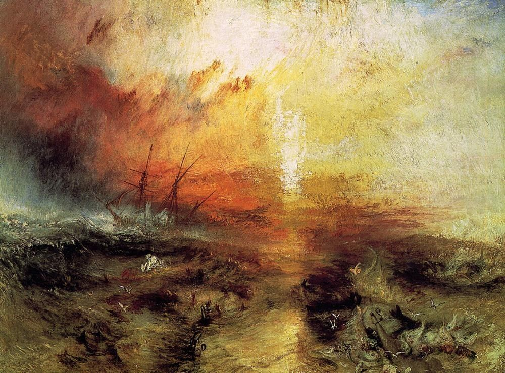 Joseph Mallord William Turner The Slave Ship