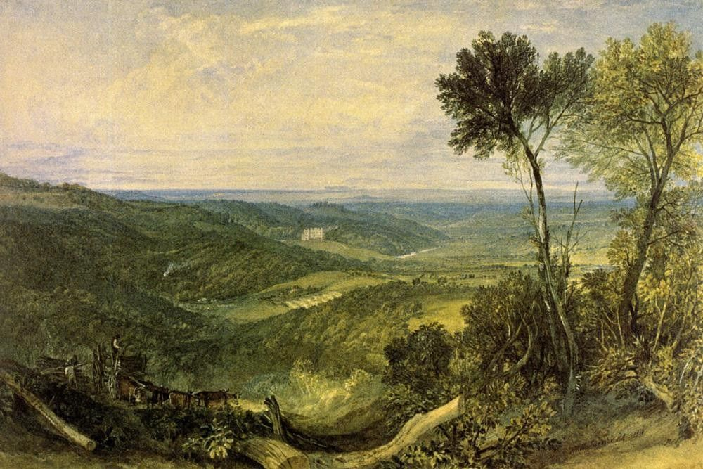 Joseph Mallord William Turner The Vale of Ashburnham