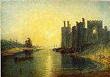 Venice paintings - Caernarvon Castle by Joseph Mallord William Turner