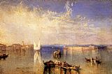 Joseph Mallord William Turner Campo Santo Venice painting