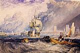 Joseph Mallord William Turner Portsmouth painting