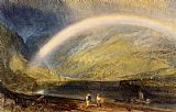 Joseph Mallord William Turner Rainbow painting