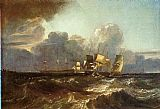 Joseph Mallord William Turner Ships Bearing Up for Anchorage painting
