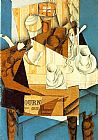 Juan Gris Breakfast painting