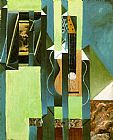 Juan Gris The Guitar painting
