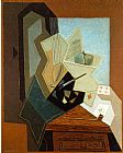 Juan Gris The Painter's Window painting