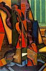 Juan Gris Violin and Guitar painting