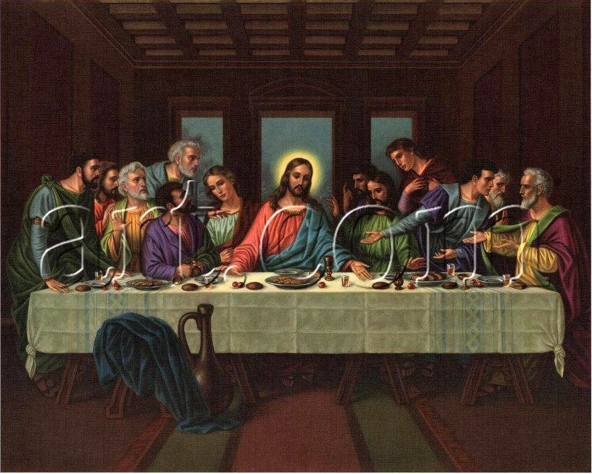 Leonardo da Vinci picture of the last supper