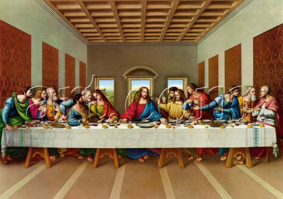 Leonardo da Vinci the picture of the last supper