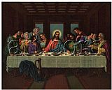 Leonardo da Vinci picture of the last supper painting
