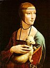 Leonardo da Vinci Lady With An Ermine painting