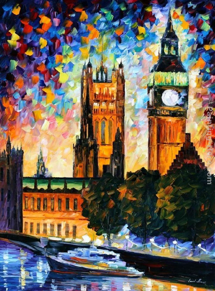 Leonid Afremov BIG BEN