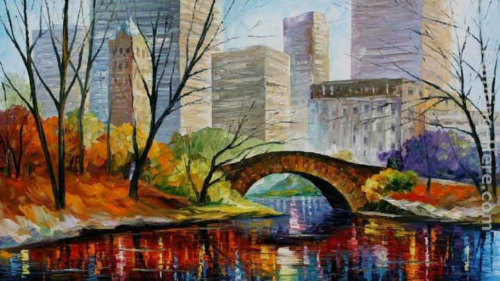 Leonid Afremov CENTRAL PARK NEW YORK