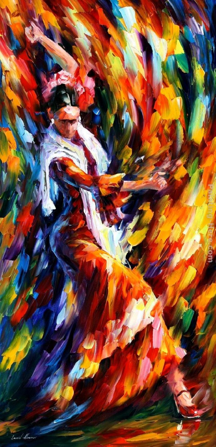 Leonid Afremov FLAMENCO DANCER