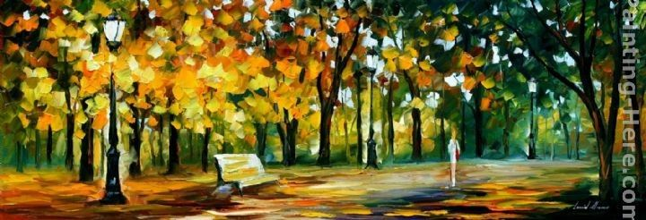 Leonid Afremov IN THE OLD PARK