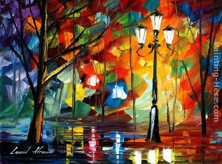 Leonid Afremov THE SOUL OF THE PARK