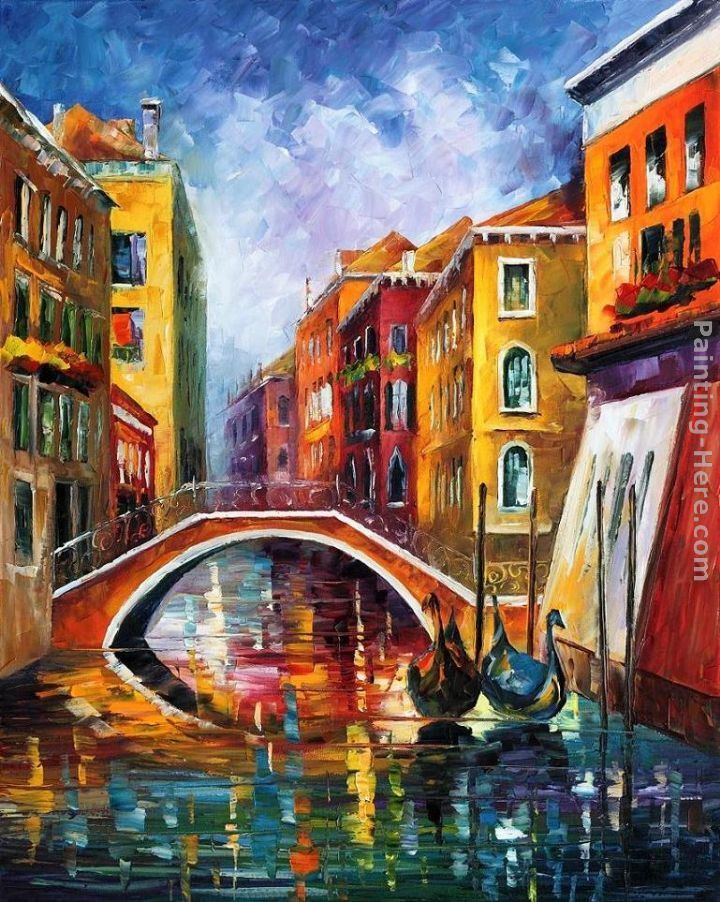Leonid Afremov VENICE BRIDGE