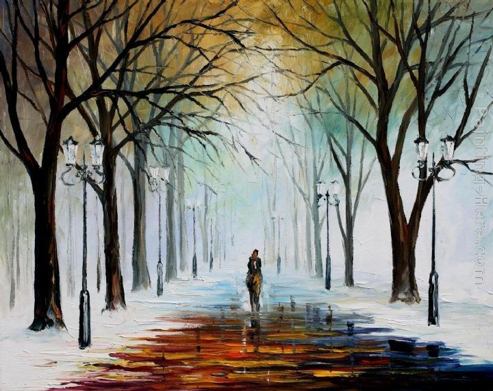 Leonid Afremov WINTER MOOD