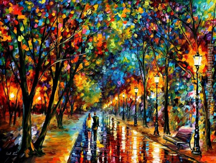 Leonid Afremov when dreams come true